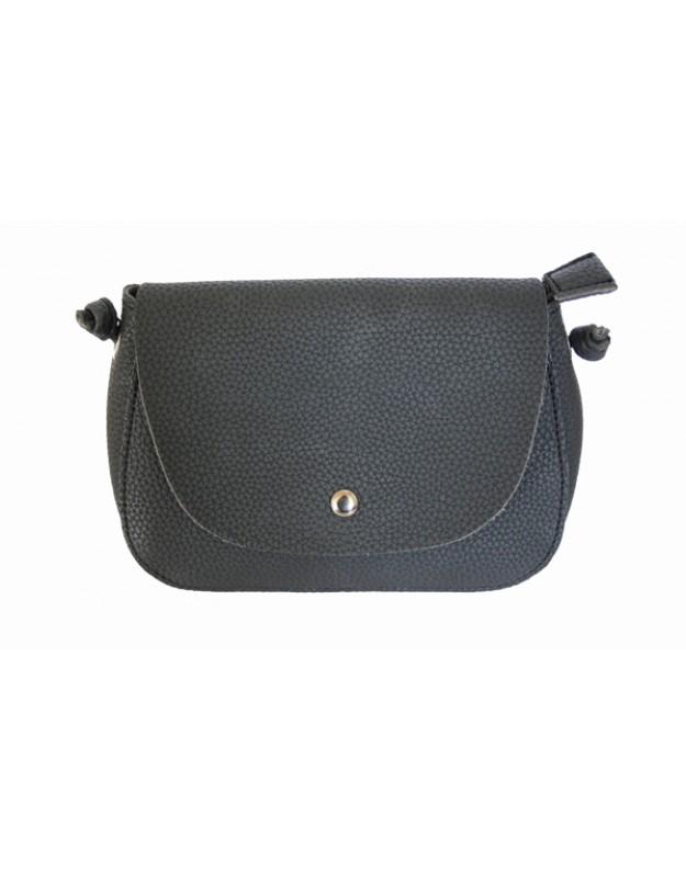 7cbdb5c9efca Small black bag with long shoulder strap - Lisbeth Merrild - www.drpaul.com